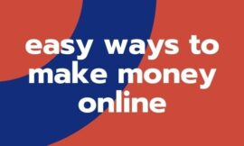How to easy ways to make money online