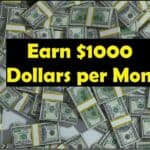 How Can I Earn from 10 to 1000 $ Per Month in working Online